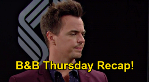 The Bold and the Beautiful Spoilers: Thursday, January 21 Recap - Steffy & Finn Reconcile - Wyatt Freaks Over Hope's Pregnancy