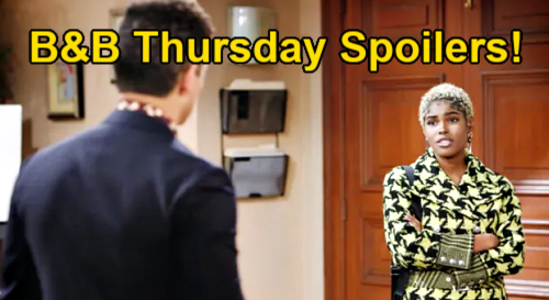 The Bold and the Beautiful Spoilers: Thursday, March 4 - Zende & Paris' Whirlwind Date - Zoe Pulls Out All The Stops For Carter