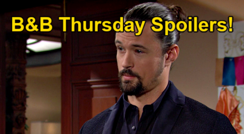 The Bold and the Beautiful Spoilers: Thursday, October 14 – Ridge & Carter's Faceoff – Thomas & Paris Celebrate Living Together
