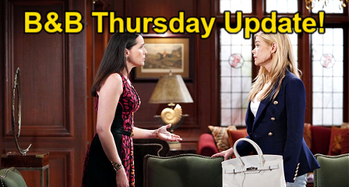 The Bold and the Beautiful Spoilers: Thursday, September 2 Update – Paris Against Unfair Steffy – Quinn's History Haunts