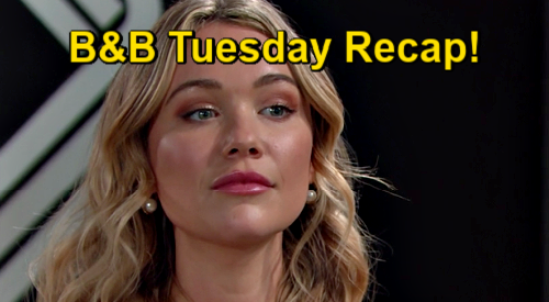 The Bold and the Beautiful Spoilers: Tuesday, January 19 Recap - Hope Cries To Thomas - Finn Wants Steffy Even if Liam's Baby Daddy