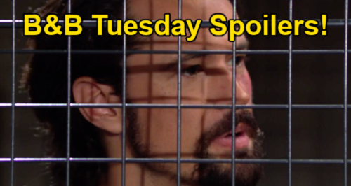 The Bold and the Beautiful Spoilers: Tuesday, June 22 – Justin Kidnaps Thomas Over Vinny Suicide Video – Won't Let Truth Out