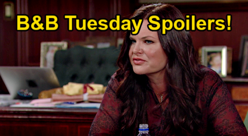 The Bold and the Beautiful Spoilers: Tuesday, September 14 – Brooke & Donna Grill Katie - Quinn & Carter Next Step