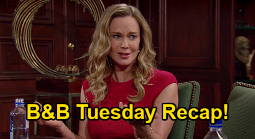The Bold and the Beautiful Spoilers: Tuesday, September 14 Recap – Carter Alone After Quinn Sacrifice – Eric Only Man for Donna