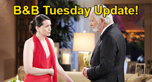The Bold and the Beautiful Spoilers: Tuesday, September 14 Update – Katie Spills Bill Secrets – Eric Feels Like a Failure