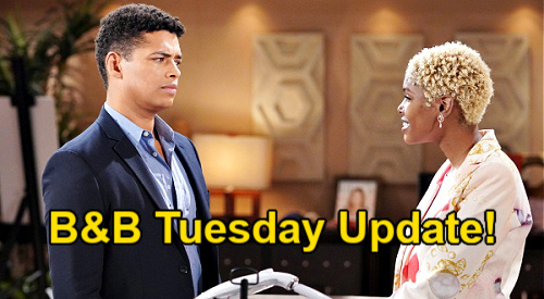 The Bold and the Beautiful Spoilers: Tuesday, September 7 Update – Paris' Crush on Finn Stuns Zende