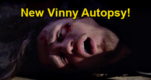 The Bold and the Beautiful Spoilers: Vinny's New Autopsy – Missed Evidence Provides Cause Of Death?