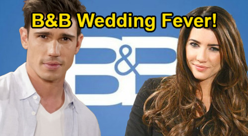 The Bold and the Beautiful Spoilers: Wedding Fever Follows Baby Blues – New Story Shifts & Finally Some Happy Couples