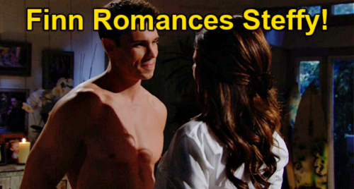 The Bold and the Beautiful Spoilers: Wednesday, August 4 Update - Finn Romances Steffy - Quinn & Carter Get Intimate