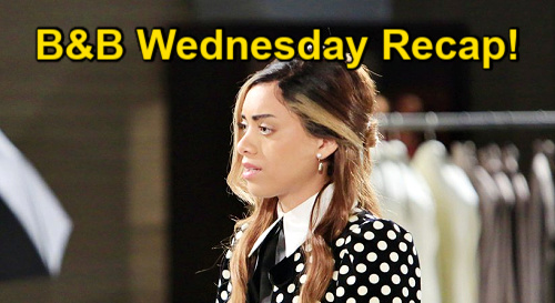 The Bold and the Beautiful Spoilers: Wednesday, January 13 Recap - Paris Tells Zoe No - Baby News Startles Hope & Finn