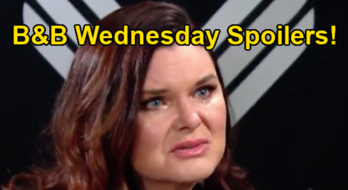 The Bold and the Beautiful Spoilers: Wednesday, January 27 - Katie Hears Bill Plead For Another Chance, Seeks Donna's Advice