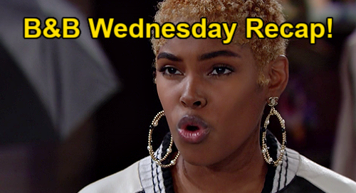 The Bold and the Beautiful Spoilers: Wednesday, January 27 Recap - Katie Gives Bill A Glimmer Of Hope - Zoe Threatens Paris' Job