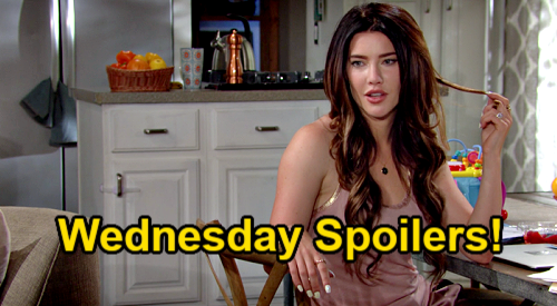 The Bold and the Beautiful Spoilers: Wednesday, July 28 – Steffy's ASAP Marriage Thrills Finn – Katie & Brooke Sister Secrets