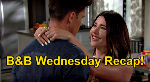 The Bold and the Beautiful Spoilers: Wednesday, July 28 Recap – Steffy's 'Til Death Do Us Part Vow to Finn