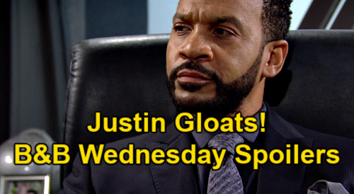 The Bold and the Beautiful Spoilers: Wednesday, June 23 – Thomas Locked in Hazardous Area Cage – Justin Gloats on Spencer Throne