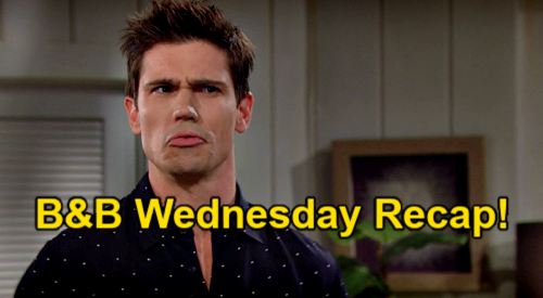 The Bold and the Beautiful Spoilers: Wednesday, March 17 Recap – Finn & Steffy's Baby Names – Brooke Questions Thomas' Move