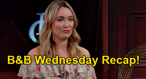 The Bold and the Beautiful Spoilers: Wednesday, March 3 Recap - Flo Gets Forrester Job Over Ridge's Objections