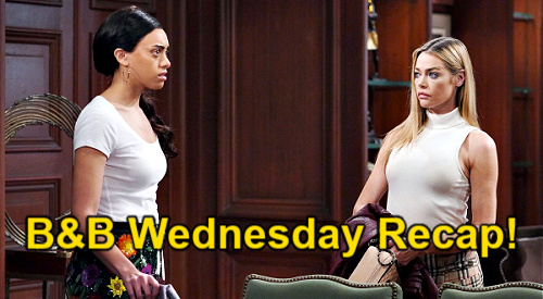 The Bold and the Beautiful Spoilers: Wednesday, May 12 Recap – Zoe Remembers Quinn's Jacket from Carter's Bedroom