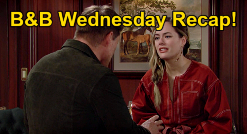 The Bold and the Beautiful Spoilers: Wednesday, October 13 Recap – Liam Sabotages Deacon & Hope – Sheila's Outburst