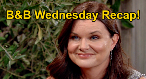 The Bold and the Beautiful Spoilers: Wednesday, October 20 Recap – Katie & Carter's Flirty Date – Zende Fears Thomas' Paris Spark