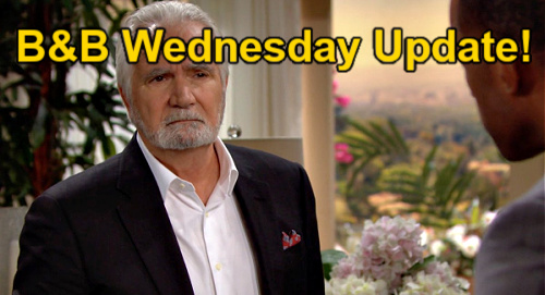 The Bold and the Beautiful Spoilers: Wednesday, October 20 Update – Carter Promises Suspicious Eric – Zende Confesses to Hope