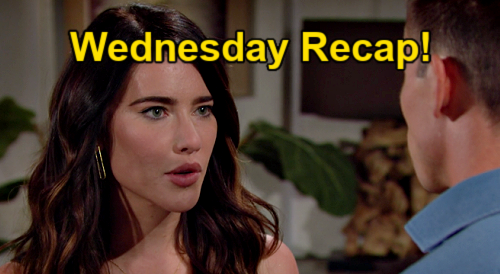 The Bold and the Beautiful Spoilers: Wednesday, September 1 Recap – Steffy Cancels Courthouse to Finalize Finn Marriage