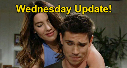The Bold and the Beautiful Spoilers: Wednesday, September 15 Update – Paris Witnesses Finn & Steffy's Passionate Celebration
