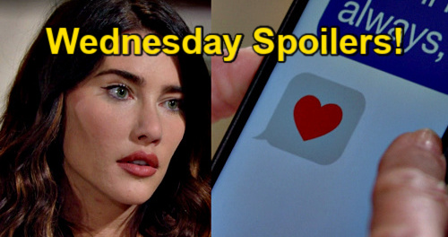 The Bold and the Beautiful Spoilers: Wednesday, September 8 – Sheila Exposes Finn's Secret Love Text to Steffy