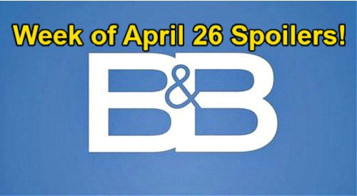 The Bold and the Beautiful Spoilers: Week of April 26 – Thomas Set to Avenge Vinny's Death - Wyatt's Car Questions Panic Bill