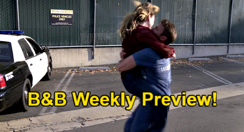The Bold and the Beautiful Spoilers: Week of July 12 Preview - Truth Sets Liam Free & Hope Literally Leaps For Joy