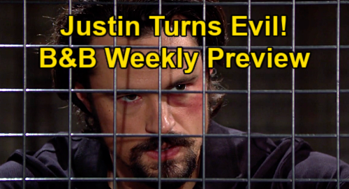 The Bold and the Beautiful Spoilers: Week of June 21 Preview - Justin Revealed As Villain – Bill's Fixer Turns On Spencers