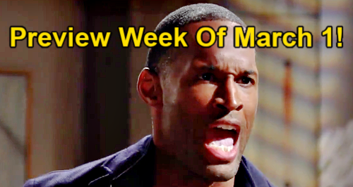 The Bold and the Beautiful Spoilers: Week of March 1 Preview - Zoe Goes All Out To Win Carter Back - Paris Supports Sister