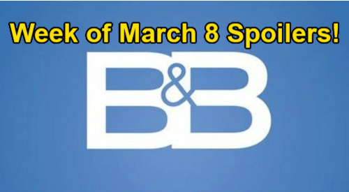 The Bold and the Beautiful Spoilers: Week of March 8 – Steffy & Hope Learn Finn is Baby Daddy - Thomas & Vinny's Disaster