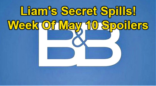 The Bold and the Beautiful Spoilers: Week of May 10 – Liam's Grim Secret Spills – Zoe Quizzes Carter About New Woman