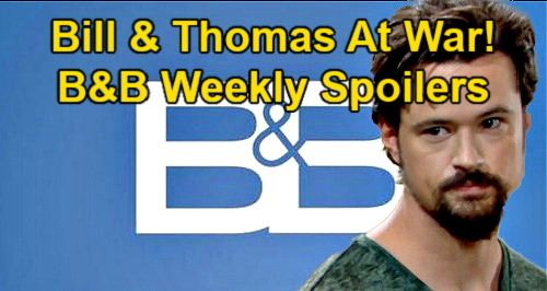 The Bold and the Beautiful Spoilers: Week of May 17 – Thomas & Bill at War – Hope Investigates Liam's Strange Behavior