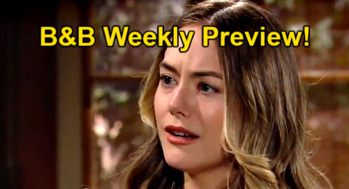The Bold and the Beautiful Spoilers: Week of May 17 Preview – Liam Ignores Bill's Plea – Frightens Hope By Cloaked Confession