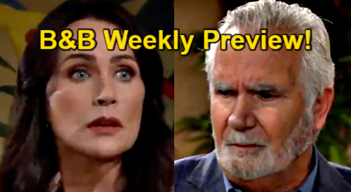 The Bold and the Beautiful Spoilers: Week of May 3 Preview – Eric Catches Quinn, One Night Ruins Marriage – Shauna Covers for Bestie