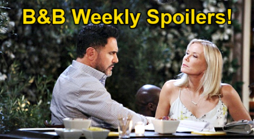 The Bold and the Beautiful Spoilers: Week of October 18 – Finn & Hope's Bombshell – Carter & Quinn Split – Bill Turns to Brooke