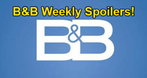 The Bold and the Beautiful Spoilers: Week of September 13 – Paris Walks in on Steffy & Finn Passion – Logan Sisters Team Up