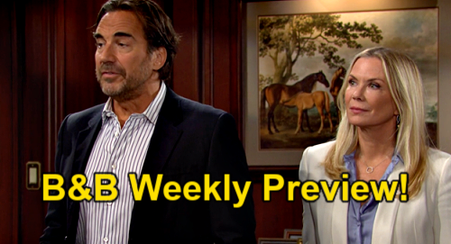 The Bold and the Beautiful Spoilers: Week of September 20 Preview - Ridge The Secret Buster - Quinn Investigated