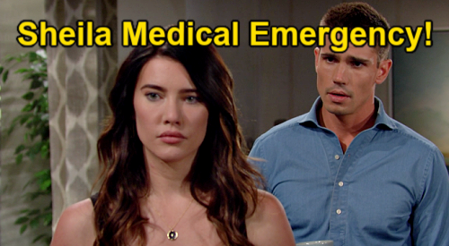 The Bold and the Beautiful Spoilers: Week of September 6 – Sheila Rushed to Hospital, Steffy Doubts Illness – Finn Sides with Mom