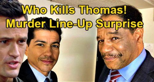 The Bold and the Beautiful Spoilers: Who Kills Thomas Forrester – Murder Suspect Line-Up Surprise