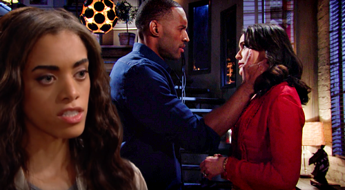 The Bold and the Beautiful Spoilers: Zoe Walks In On Quinn & Carter's Exploding Passion – Cheaters Can't Quit & Get Busted?