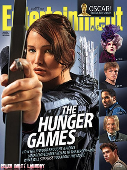 Hunger Games Graces The Cover Of Entertainment Weekly