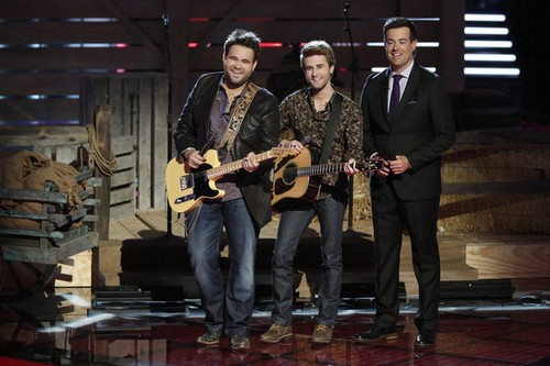 """The Swon Brothers The Voice Semifinals """"Danny's Song"""" Video 6/10/13"""