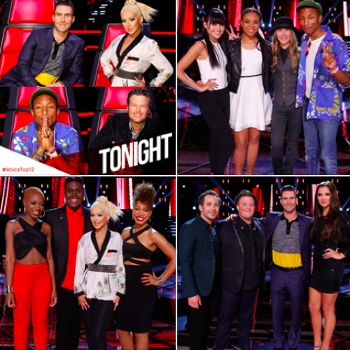 "The Voice 2015 Recap - Top 12 Rock the House: Season 8 Episode 17 ""Live Top 12 Performances"""