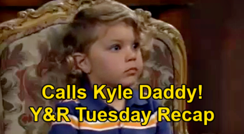 The Young and Restless Spoilers: Tuesday, June 1 Recap – Harrison Calls Kyle Daddy – Richard Found Baby Before Murder