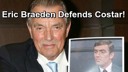 The Young and the Restless Spoilers: Eric Braeden Defends Beloved Costar – Shuts Down Hurtful Social Media Comments