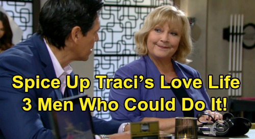 The Young and the Restless: How To Spice Up Traci's Love Life – 3 Men Who Help Traci Let Loose and Have Fun On New Y&R Episodes