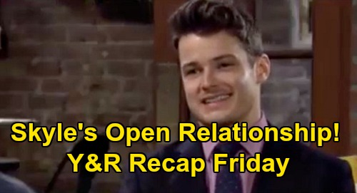 The Young and the Restless Recap: Friday, August 21 - Kyle & Summer's Open Relationship Shocker - Theo Gets Chancellor & Lola